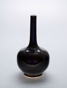 Bottle-Shaped Vase, Qing dynasty (1644-1911)