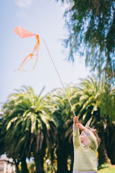 Kite on a Stick DIY: Kite Party