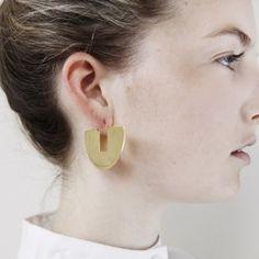 Anna+Nina - Eclipse Earring Goldplated, €59,95