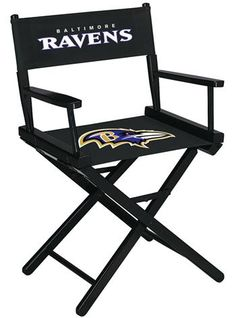 Use this Exclusive coupon code: PINFIVE to receive an additional 5% off the Baltimore Ravens Director's Chair - Table Height at SportsFansPlus.com