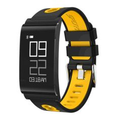Before you buy a waterproof fitness tracker, check out these highly rated fitness bands that can be used for swimming, running and more activities. Smart Bracelet, Bracelet Watch, Smartwatch, Waterproof Fitness Tracker, Ios Phone, Fitness Watch, Heart Rate Monitor, Goods And Service Tax, Blood Pressure