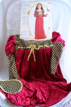 Children s Medieval Juliet Fancy Dress Costume - Medium 120 - height Fancy Dress For Kids, Shakespeare, Dress Ideas, Medieval, Dresser, Costumes, Medium, Children, Outfits