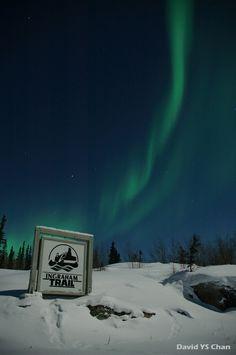 Aurora Borealis, Yellowknife, Northwest Territories