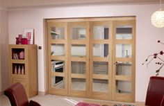 shaker style bifold internal doors