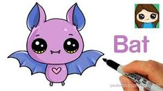 Easy cartoon animals how to draw cartoon animals step by step large size of cute bat Easy Animal Drawings, Cartoon Drawings Of Animals, Easy Drawings, Anime Animals, Cartoon Drawing Tutorial, Cartoon Girl Drawing, Drawing Tutorials, Cartoon Bat, Drawing Lessons For Kids