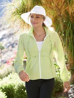 Women's Ultra Athlete<sup>®</sup> Full Zip Shirt