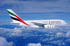 A Emirates é o maior operador do A380 no mundo, com 73 unidades na frota (Emirates Airlines)