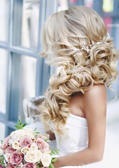 Elegant chic wedding hairstyle shared by Illusia Prestigious Skincare begorgeous.net