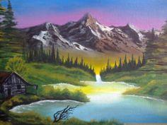 Bob Ross Landscape by AsiulSagrav.deviantart.com on @deviantART