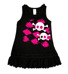 Baby clothes with skulls ... my favorite.
