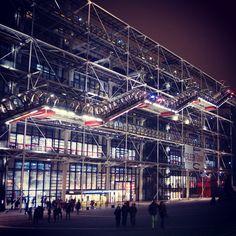 Pompidou Center in Paris - Museum of modern art