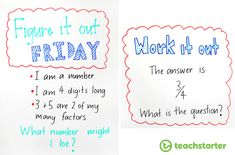Daily maths warm-up are intended to be a quick warm-up of the brain before a mathematics learning session. Here are 23 quick and easy maths warm-up ideas. Whiteboard Games, Classroom Whiteboard, Classroom Board, Math Classroom, Bulletin Board, Classroom Routines, Classroom Displays, Classroom Ideas, Fun Math