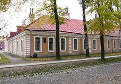 Maison des Ingénieurs - Saint Petersbourg - Construite entre 1748 et 1749.