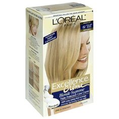 L'Oreal Excellence Blonde Supreme Triple Protection Color Creme, Extra Light Natural Blonde, High Lift 02 (Pack of 3) -- Visit the image link more details.