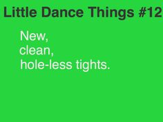 Little Dance Things #12  ahh. this is the best.. haa