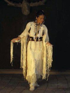 White Buffalo Calf Woman portrayal by Native Nations Museum.jpg