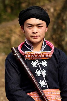 Changjiao Miao man | Guizhou, China.  © Rudi Roels, via Flickr
