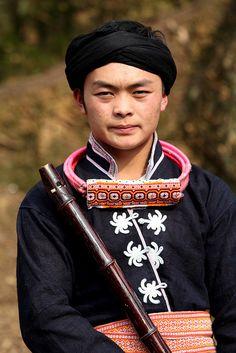 Miao Man from Guizhou, China