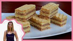 No Bake Desserts, Food Videos, Recipe Videos, Macarons, Fudge, Muffin, Good Food, Food And Drink, Birthday Cake