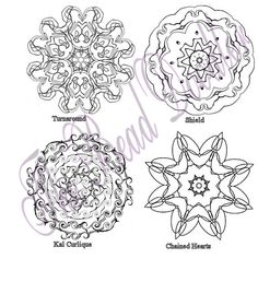 Coloring Mandalas Volume 3 Advanced by thebeaddoodler on Etsy