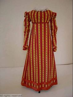 Dress, 1815-20, Dutch.