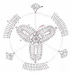 Crochetpedia: 2D Crochet Flowers Free Patterns [2/9 see photo]