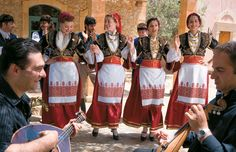 Traditional dances are nearly always a part of festivals on Crete