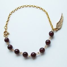 Shop for garnet on Etsy, the place to express your creativity through the buying and selling of handmade and vintage goods. 24k Gold Jewelry, Jewellery, Unique Jewelry, Ring Necklace, Earrings, Gemstone Bracelets, Natural Red, Gem S, Candy Colors