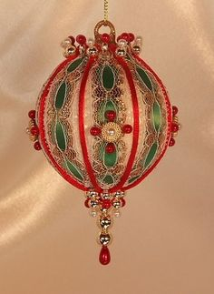 Victorian Christmas Ornaments to Make - Bing images
