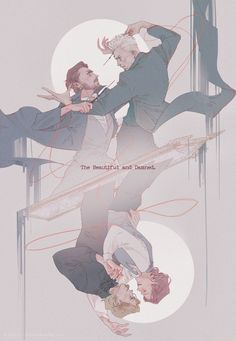 Albus Dumbledore and Gellert Grindelwald Fanart Harry Potter, Arte Do Harry Potter, Harry Potter Ships, Harry Potter Universal, Harry Potter Fandom, Harry Potter Memes, Harry Potter World, Potter Facts, Drarry