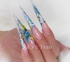 "237 Likes, 18 Comments - Eve Tran (@eve_tran) on Instagram: ""#sparkle #sparkles #nailsmagazine #vietnails #bling #blingbling #blingnails #naillove #nailart…"""