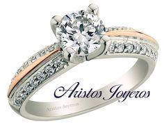 Conoce nuestra colección de anillos en 2 tonos y diamantes...