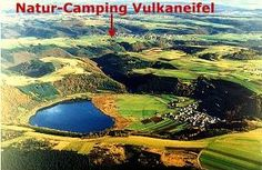 n the landscape protection area of the volcanic Eifel (Vulkaneifel) - one of natures best walking grounds in Germany - our camping site lies about 1 km outside the village of Manderscheid.