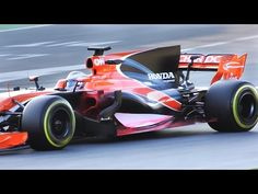 Formula 1 2017 SOUND - Fernando Alonso Testing F1 McLaren MCL32 - YouTube