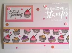 Designed by Sarah Bell using Afternoon Tea stamps by For the Love of Stamps by Hunkydory