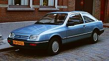 Ford Sierra 3-door hatchback - 1985. My first own car, inherited from my grandpa. 1.6 l, 75 hp, 4-speed manual. I wish I had not sold it.