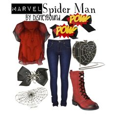 """""""Spider Man"""" by lalakay on Polyvore"""