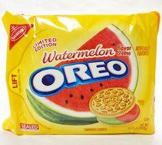 Watermelon Oreo – Des gâteaux Oreo à la pastèque