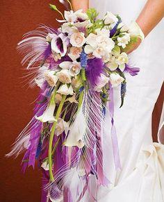 Modern twist on the vintage bouquet