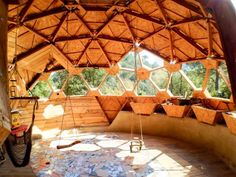 Marcello's House – Ctrl+Z Arquitectura Monolithic Dome Homes, Geodesic Dome Homes, Sustainable Architecture, Architecture Design, Residential Architecture, Contemporary Architecture, Green Building, Building A House, Natural Building