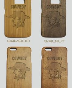 http://woodcases.co/product/cowboy-engraved-wood-phone-case/