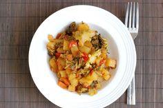 Fotorecept: Restované zemiaky s brokolicou