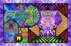 Pôster Trajetória - Simbologia: Utilizando princípios da geometria sagrada e composto por fases baseadas na evolução do número de ouro, este trabalho busca na simbologia de várias linhas culturais representar a trajetória humana pelos caminhos da vida.  A manifestação da luz, da vida e do amor nesta existência é uma graça concedida a todos, e a manutenção desta chama conduzirá o ser humano para o...