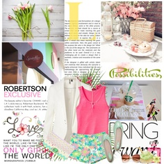 IT'S SPRIIIINNNNNGGGG!!! ♥, created by vexybabe on Polyvore