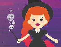 "Check out new work on my @Behance portfolio: ""Halloween witch"" http://be.net/gallery/57046809/Halloween-witch"