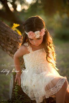 Flower Girl Dress-Baptism Dress-Ivory Lace Dress-Baby girl Clothes-Newborn Girl Dress-Christmas Dress-Baby Dress-Christening Dress-Wedding