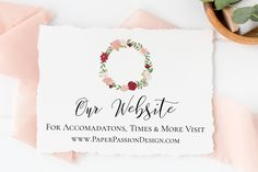 Printing Services, Online Printing, Wedding Day Schedule, Flower Invitation, Wedding Templates, Personalized Signs, Wedding Website, Paper Background, Party Printables