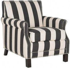Add a brilliant look to your living space with the Safavieh Easton Arm Chair. This distinguished chair is constructed of an exquisite leatherette fabric and embellished with an elegant nailhead trim that will assuredly build character to your décor. White Accent Chair, Accent Chairs, Living Room Chairs, Living Room Furniture, Furniture Chairs, Living Rooms, Dream Furniture, Dining Chair, Furniture Ideas