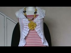 Blusa Bugambilia Crochet parte 1 de 2 - YouTube