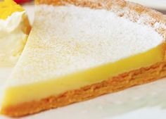 Recipe of the day: lemon tart Greek Sweets, Greek Desserts, Cold Desserts, Greek Recipes, Delicious Deserts, Yummy Food, Cheesecake Cupcakes, Pie Cake, Recipe Of The Day